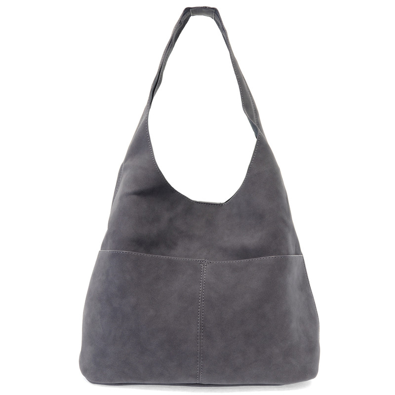 Joy Susan Jenny Hobo Handbag - Dark Chambray - L8039-06 - Main Image