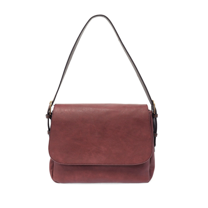 Joy Susan Jane Medium Convertible Crossbody - Merlot / Brown - L8033-530  - Profile