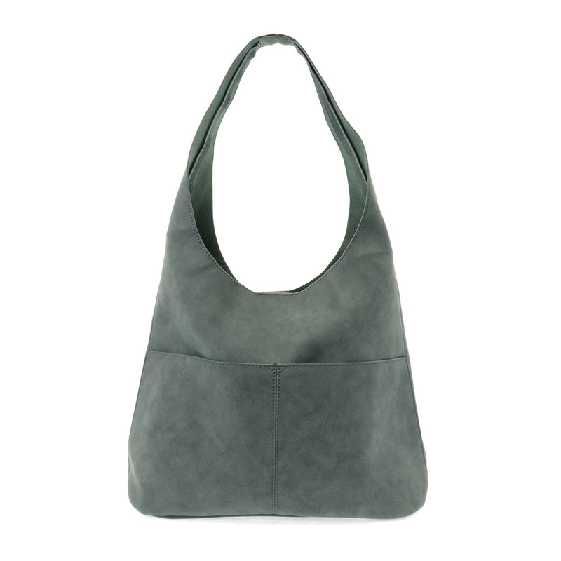 Joy Susan Jenny Hobo Handbag - Teal - L8039-09 - Profile