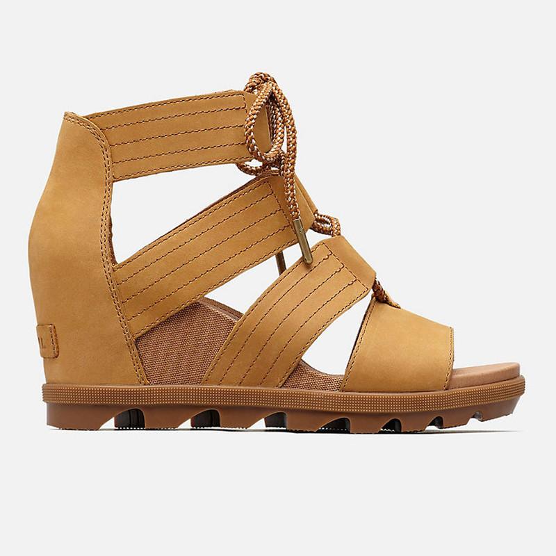 af62e9de4f6 Sorel Women s Joanie™ II Lace Sandal - Camel Brown