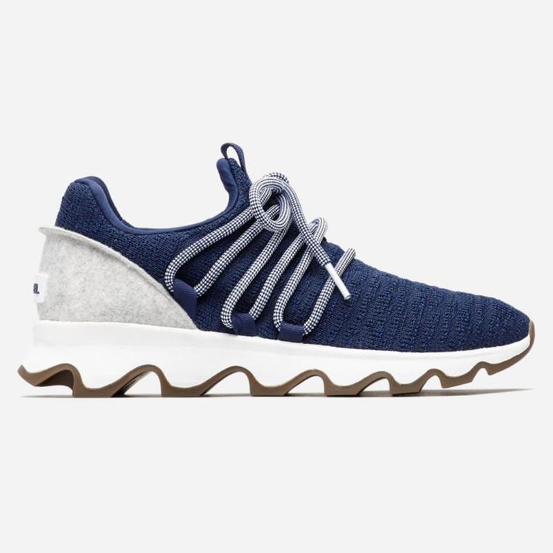 Sorel Women's Kinetic™ Lace Sneaker - Blue Shadow - 1841211-415 - Profile