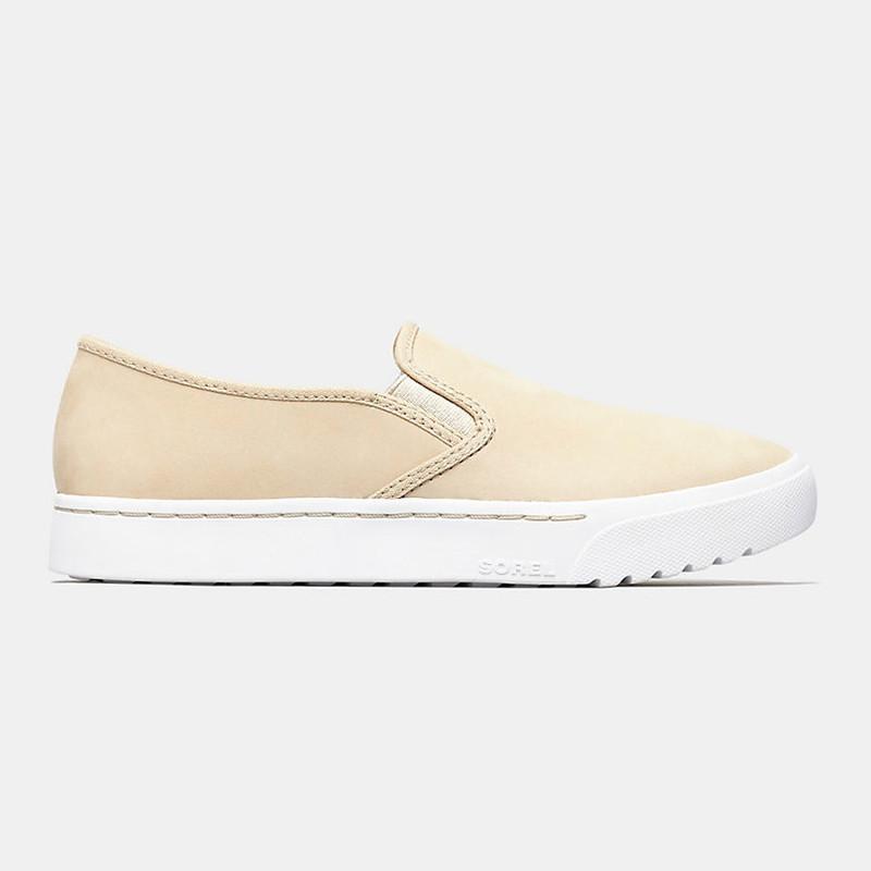 Sorel Women's Campsneak™ Slip On Sneaker - Oatmeal - 1847941-241 - Profile