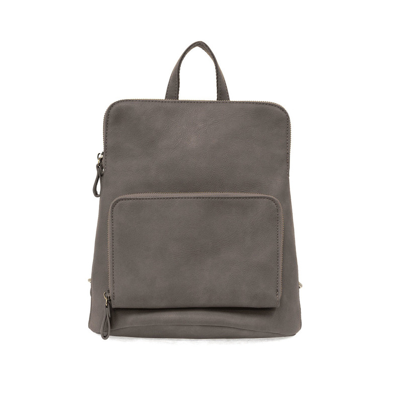 Joy Susan Julia Mini Backpack - Charcoal - L8038-170 - Profile