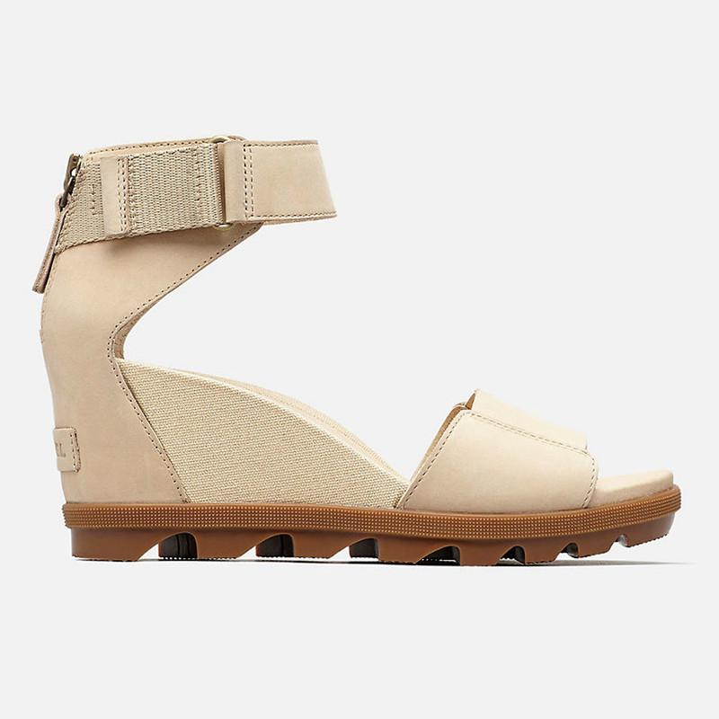 59137139e Sorel Women's Joanie™ II Ankle Strap Sandal - Oatmeal - 1848101-241 -  Profile ...