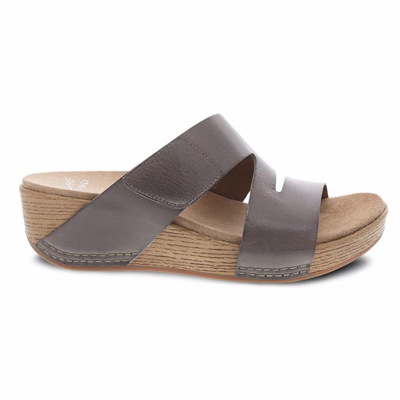 79baaa968585 Dansko Women s Lacee Sandal - Taupe Burnished Calf