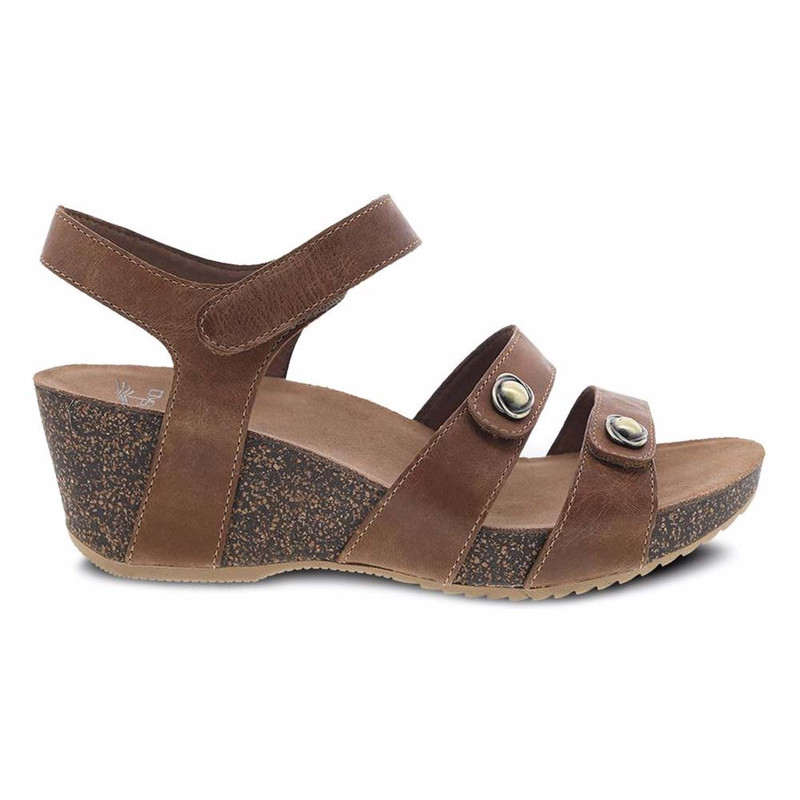 b40ba0965ef9 Dansko Women s Savannah Sandal - Tan Waxy Burnished
