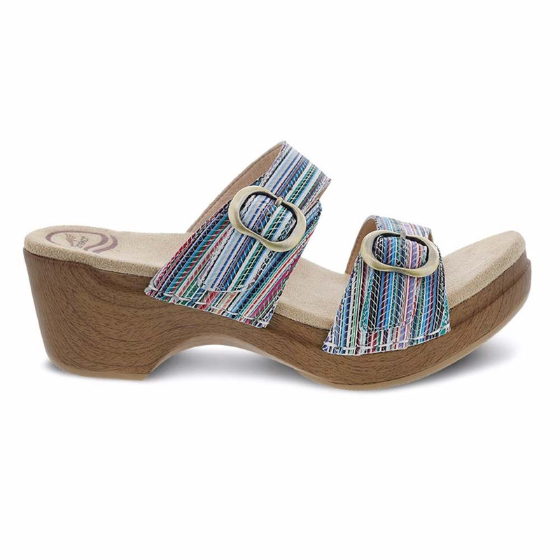 Dansko Women's Sophie - Multi Stripe - 9841-992200 - Profile