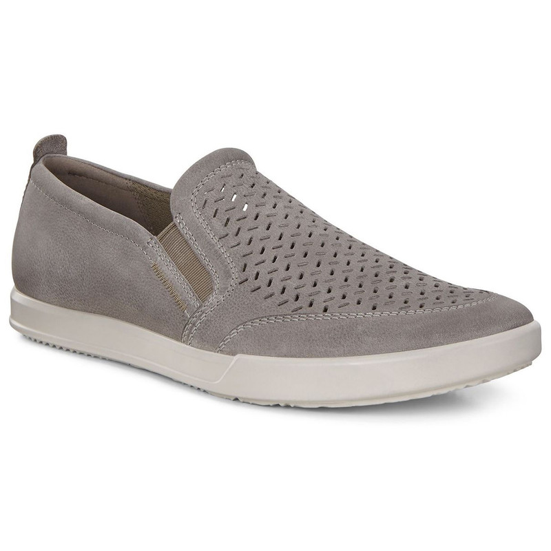 Ecco Men's Collin 2.0 Slip-On - Warm Grey - 536284-02375 - Main