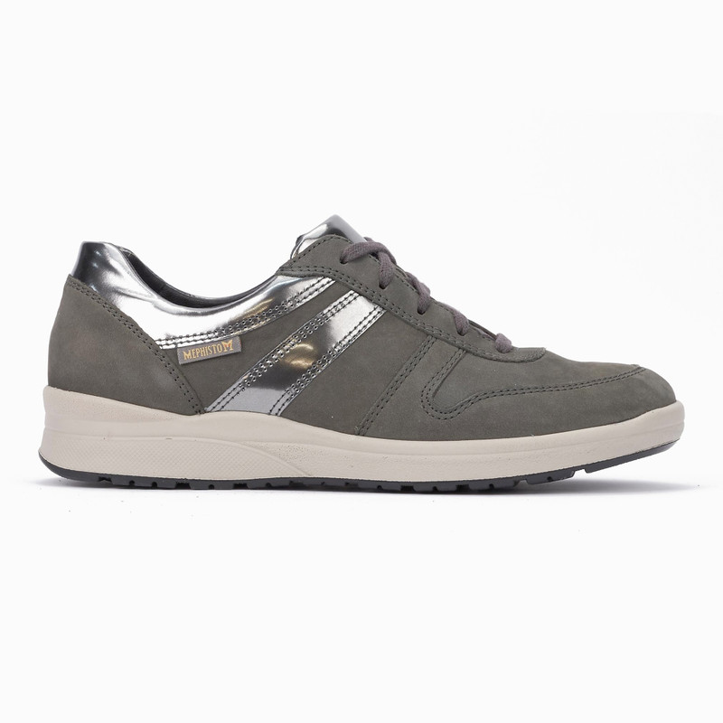 Mephisto Women's Rebeca - Grey Bucksoft / Magic - REBECA6903/30003 - Profile