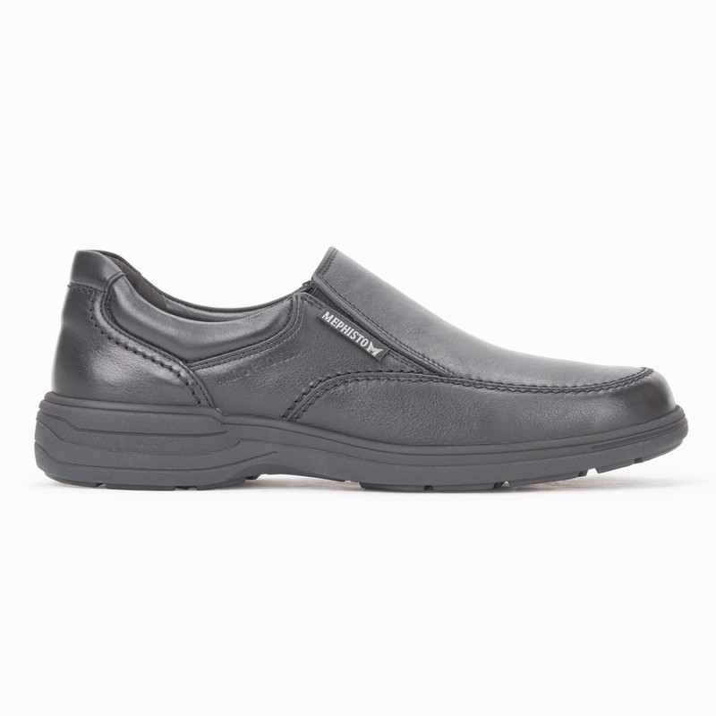 Mephisto Men's Davy - Black Riko - DAVY2100 - Profile