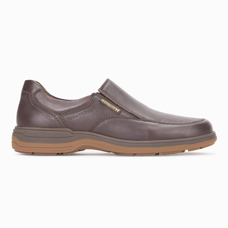 Mephisto Men's Davy - Dark Brown Riko - DAVY2151 - Profile