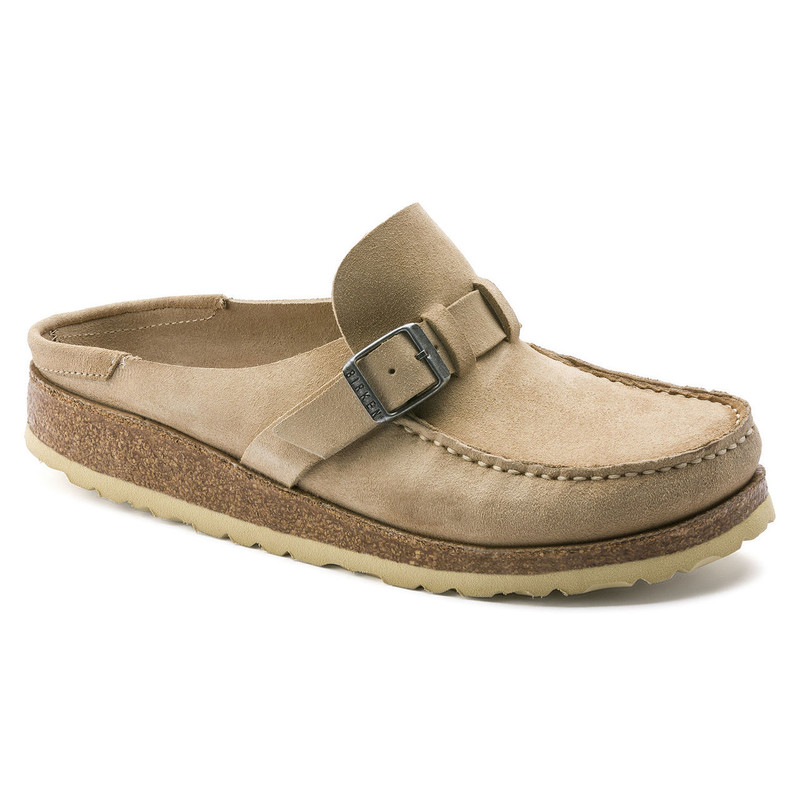 Birkenstock Women's Buckley - Sand Suede - 1013281 - Main