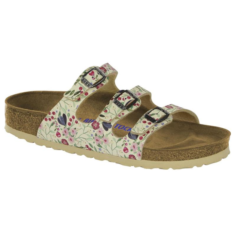 Birkenstock Women's Florida Soft Footbed - Meadows Birko-Flor (Narrow Width) - 1012779