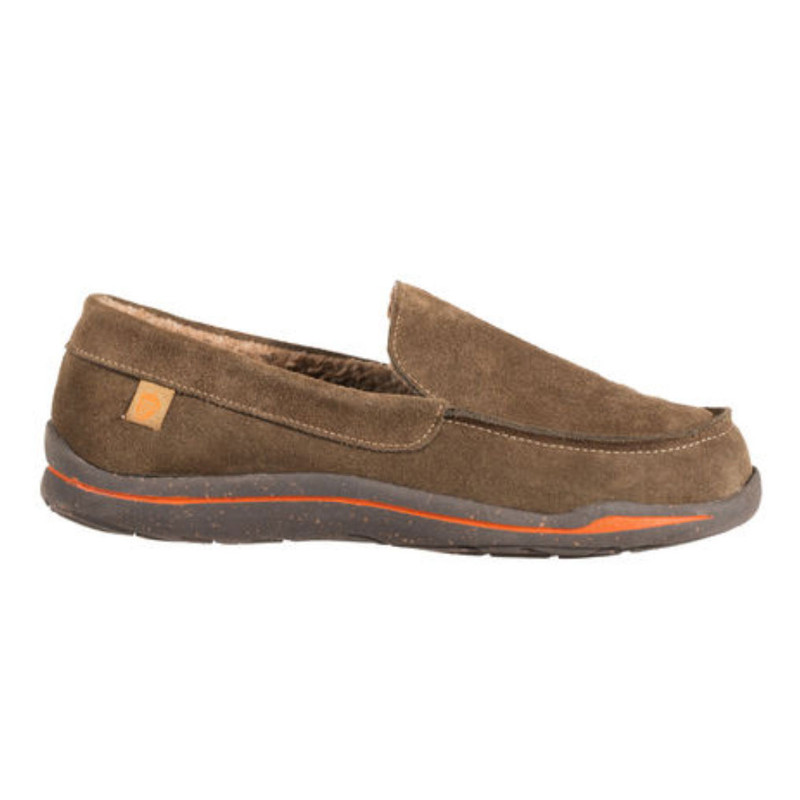 Men's Acorn Ellsworth Moc Slippers - Smokey Taupe - A18801SKT - Profile