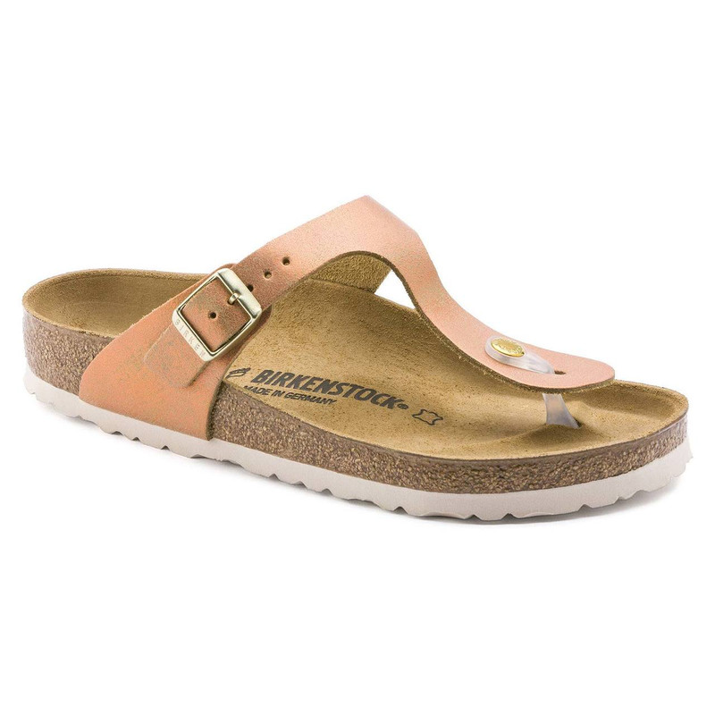 Birkenstock Women's Gizeh - Washed Metallic Sea Copper - 1012909 - Main