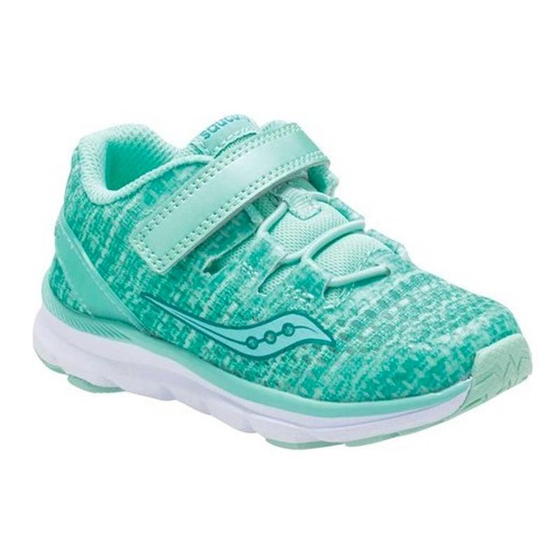 Saucony Baby Freedom ISO Sneaker - Aqua Synthetic / Mesh - SL159647 - Main Image