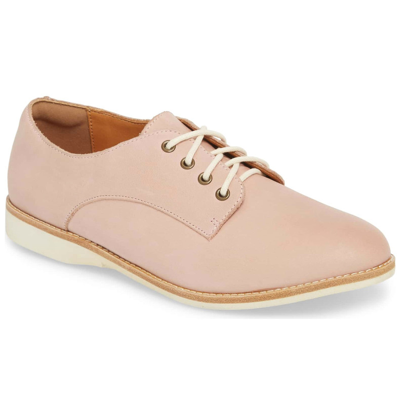 Rollie Women's Derby - Snow Pink Leather - DERBY/SNOWPINK - Main Image