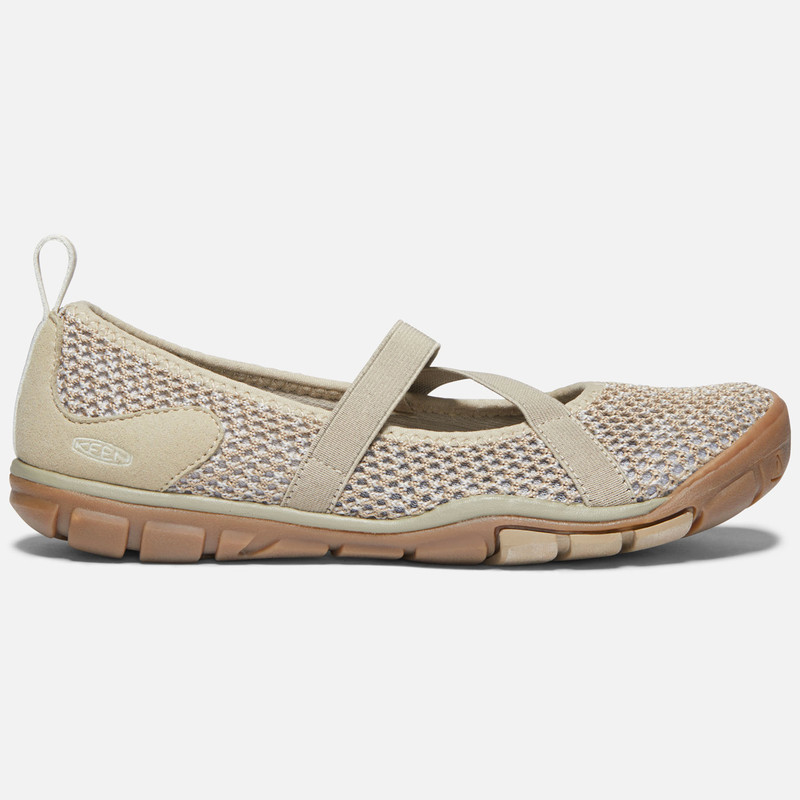 Keen Women's Hush Knit MJ - Plaza Taupe / Silver Birch - 1020378 - Profile