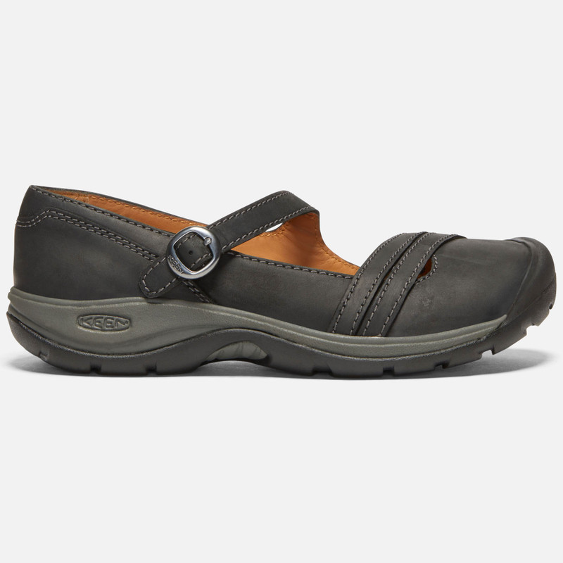 Keen Women's Presidio II Cross Strap - Black / Raven - 1020518 - Profile