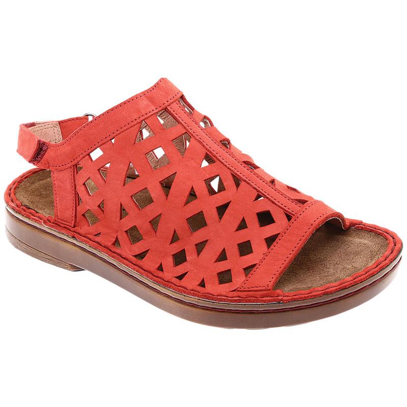 0a9428011f28 Naot Women s Amadora Sandal - Red Nubuck - 63417-C20 - Main