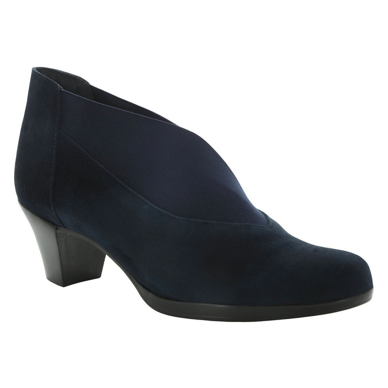Munro Women's Francee - Navy Suede - M611896 - Angle