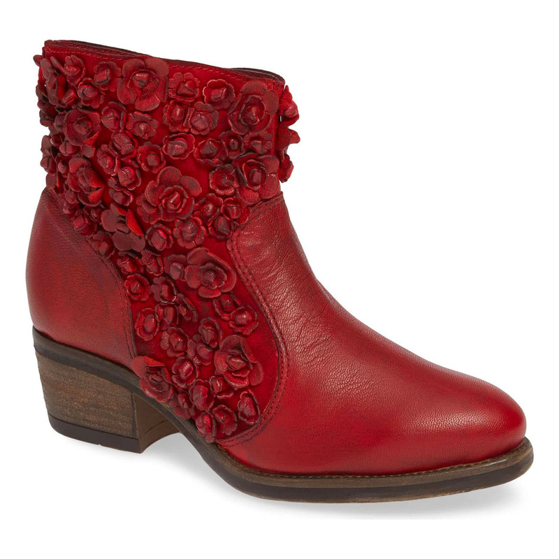 Sheridan Mia Sapphire Bootie - Red - SAPHIRE/RED - Profile