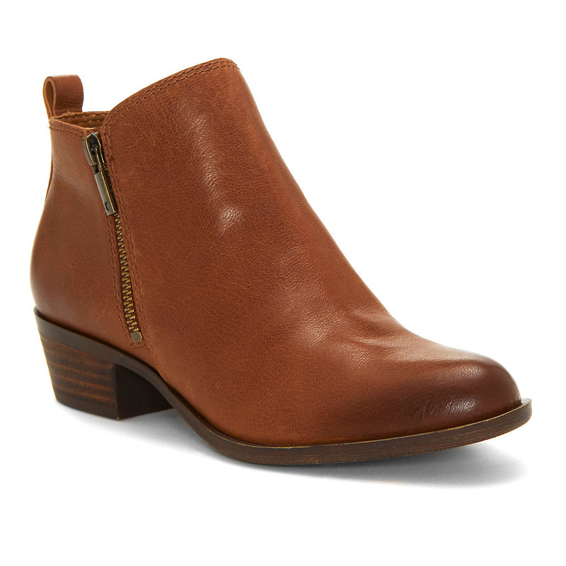 Lucky Brand Women's Basel Bootie - Toffee - BASEL/TOFFEE