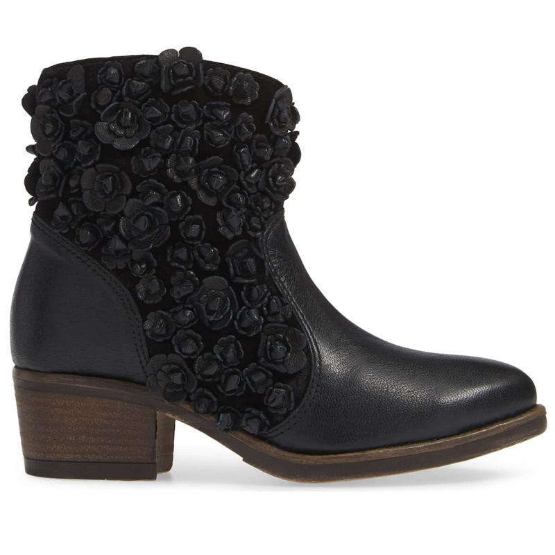 Sheridan Mia Women's Sapphire Bootie - Black - SAPHIRE/BLACK - Profile