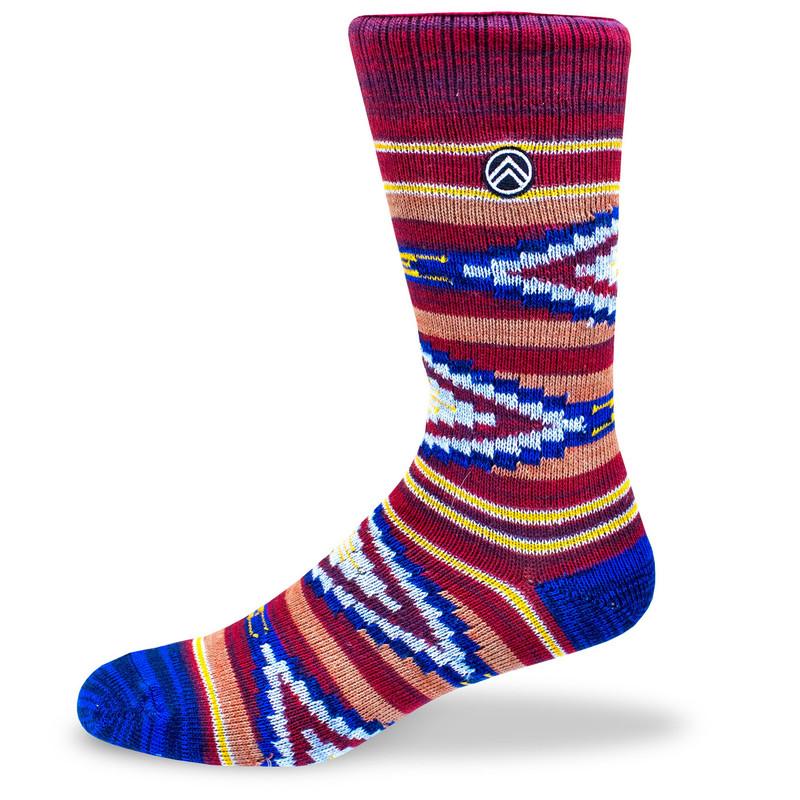 Sky Footwear Cedar Bluff Knit Crew Socks - SKY/CEDARBLUFF