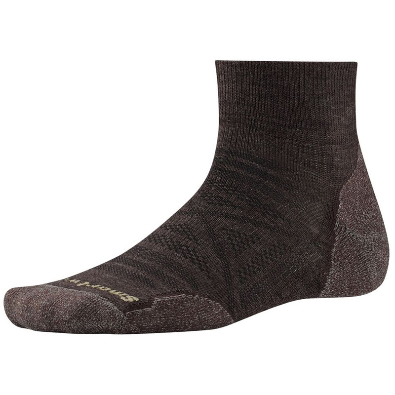 Smartwool Mens PhD Outdoor Light Mini Sock - Chestnut - SW001066-207