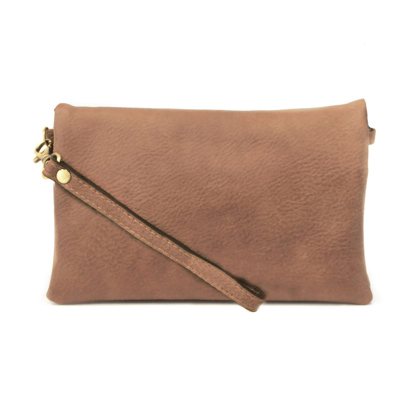 Joy Susan New Kate Crossbody Clutch - Saddle - L8019-02 - Profile