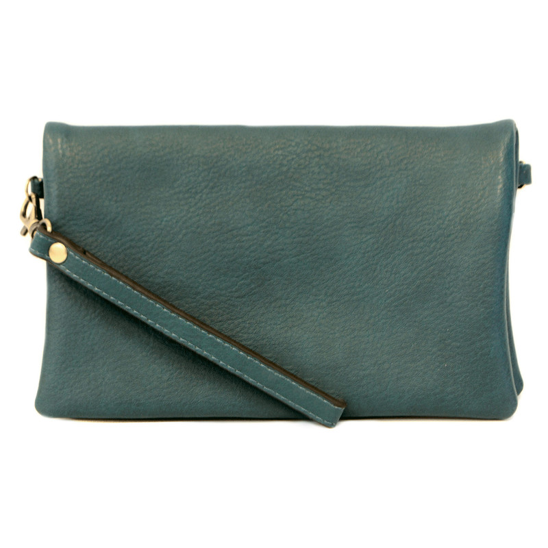 Joy Susan New Kate Crossbody Clutch - Dark Teal - L8019-66 - Profile