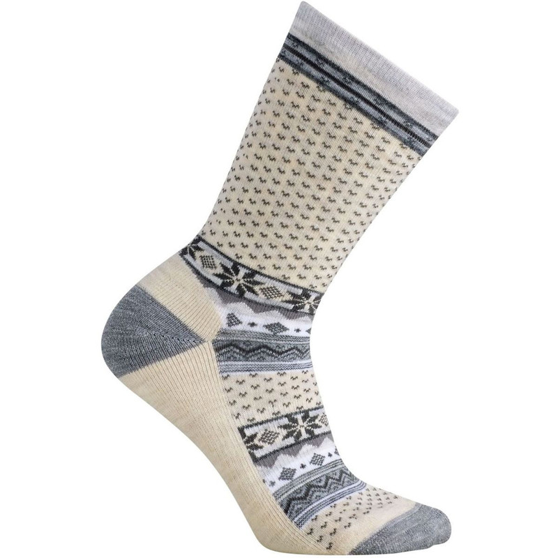martwool Women's Cozy Cabin Socks - Natural - SW048-100 - Profile