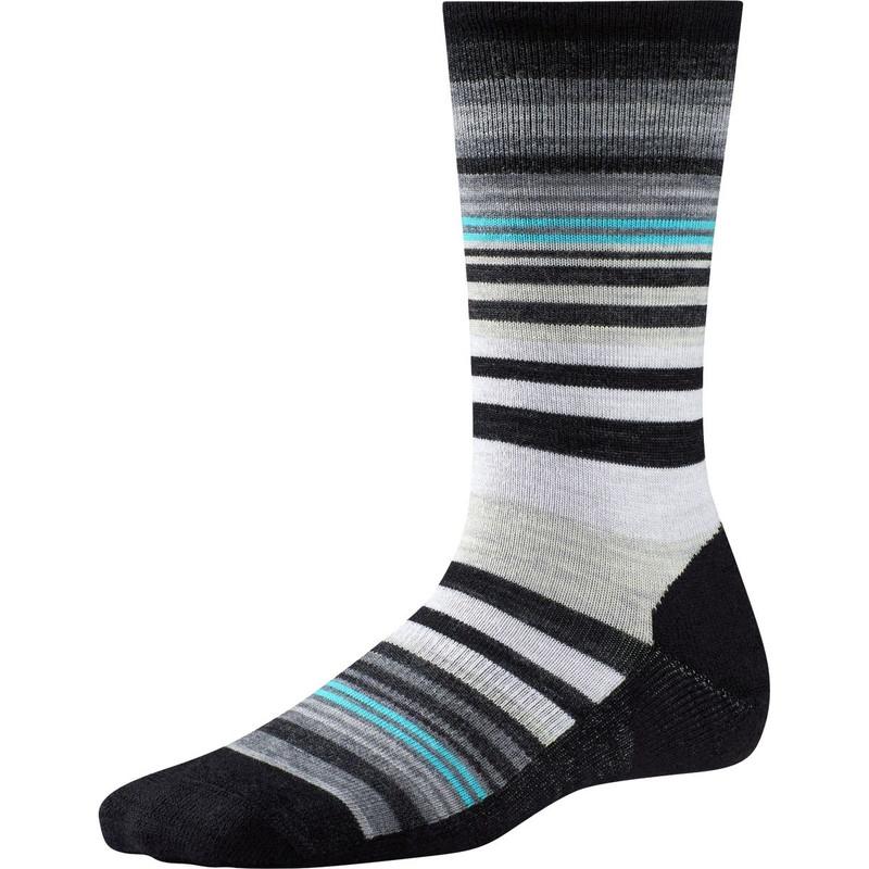 Smartwool Women's Jovian Stripe Socks - Black - SW599-001