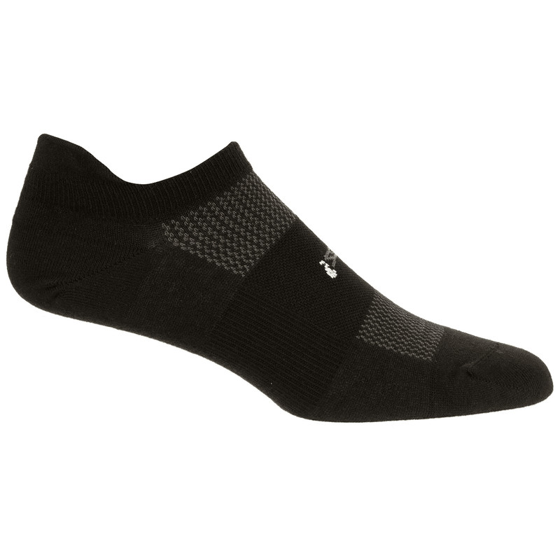 Feetures High Performance Ultra Light No Show Tab Sock - Black - FA5501