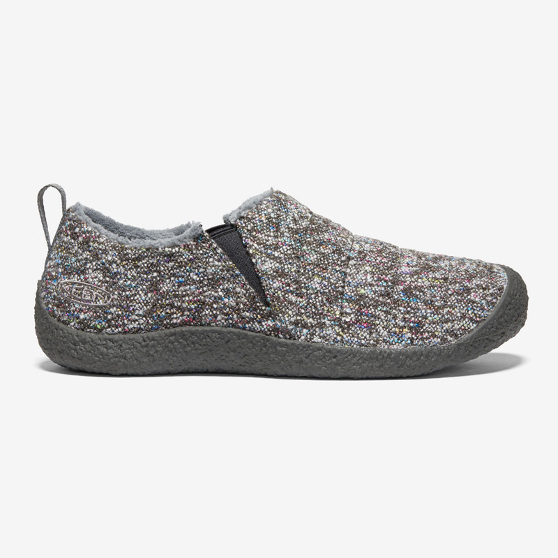KEEN Women's Howser II - Grey Multi / Raven - 1021895 - Profile