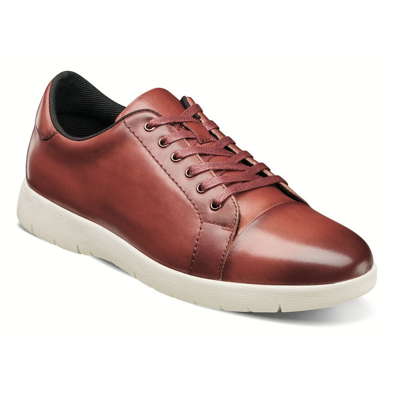 Stacy Adams Men's Hawkins Cap Toe Lace - Cranberry - 25294-608 - Angle