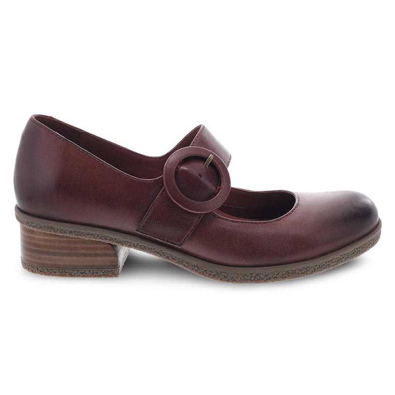 Product - Dansko Women's Brandy - Spice Waterproof Burnished - 2920-842300 - Profile