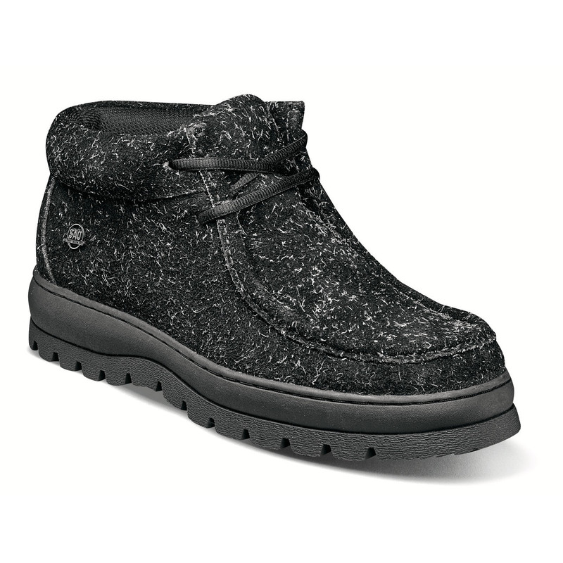 Stacy Adams Dublin II Moc Toe Boot - Black Multi - 63169-009 - Angle