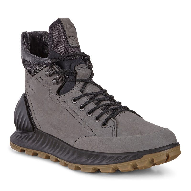 ECCO Men's Exostrike Hydromax Boot - Dark Shadow - 832304-01602 - Main