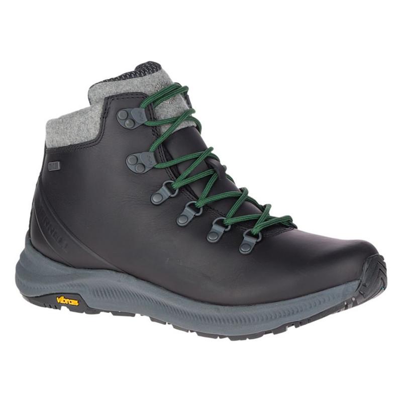 Merrell Men's Ontario Thermo Mid Waterproof - Black - J16937 - Main