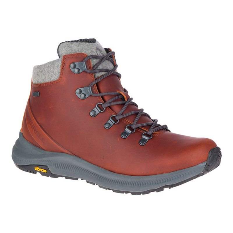 Merrell Men's Ontario Thermo Mid Waterproof - Barley - J46611 - Angle