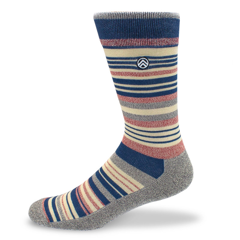 Sky Outfitters Bamboo Socks - Heather Gray - Profile