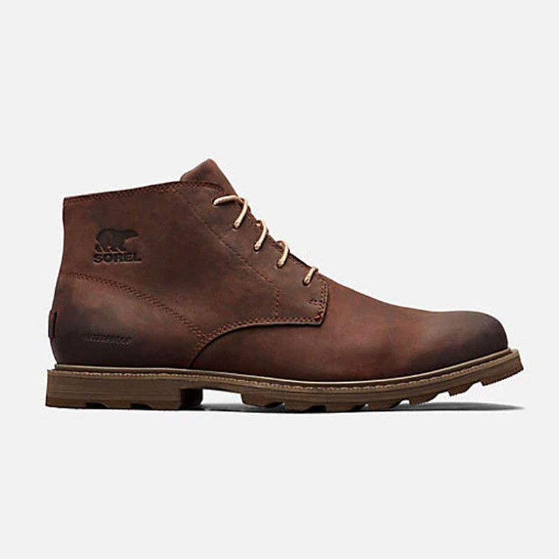SOREL Men's Madson Chukka Waterproof Boot - Tobacco / Sandy Tan - 1767211-256 - Profile