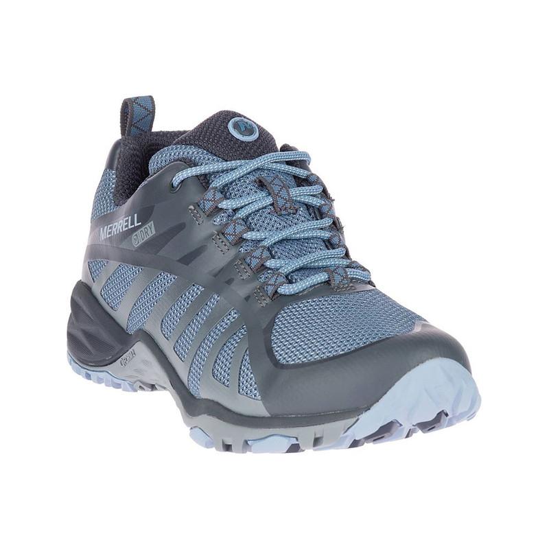merrell siren edge q2 waterproof women's low hiker bluestone