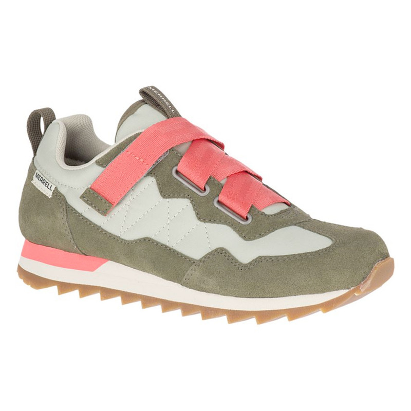 Merrell Women's Alpine Sneaker Cross - Sage / Olive - J95390 - Angle 2