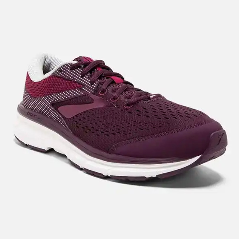 d27ac1c67a2 Brooks Women s Dyad 10 Running Shoe - Purple   Pink   Grey - 120275-527 ...