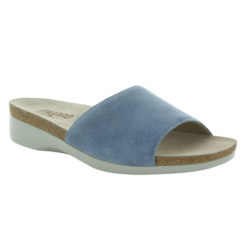 Munro Women's Laya - Blue Suede - M486796 - Angle