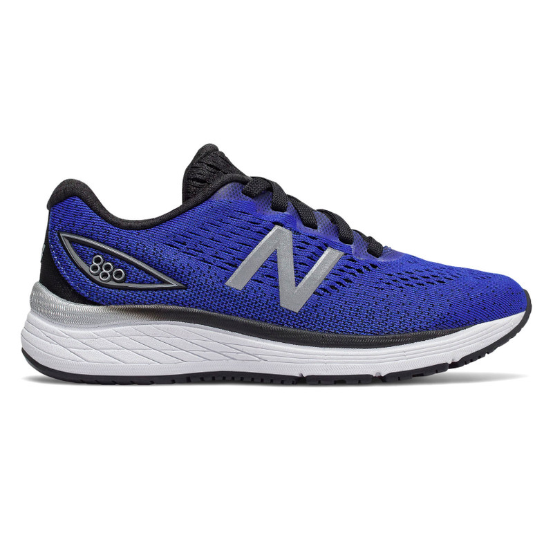 New Balance 880v9 Kid's Youth Running - UV Blue with Black - YP880LS - Profile