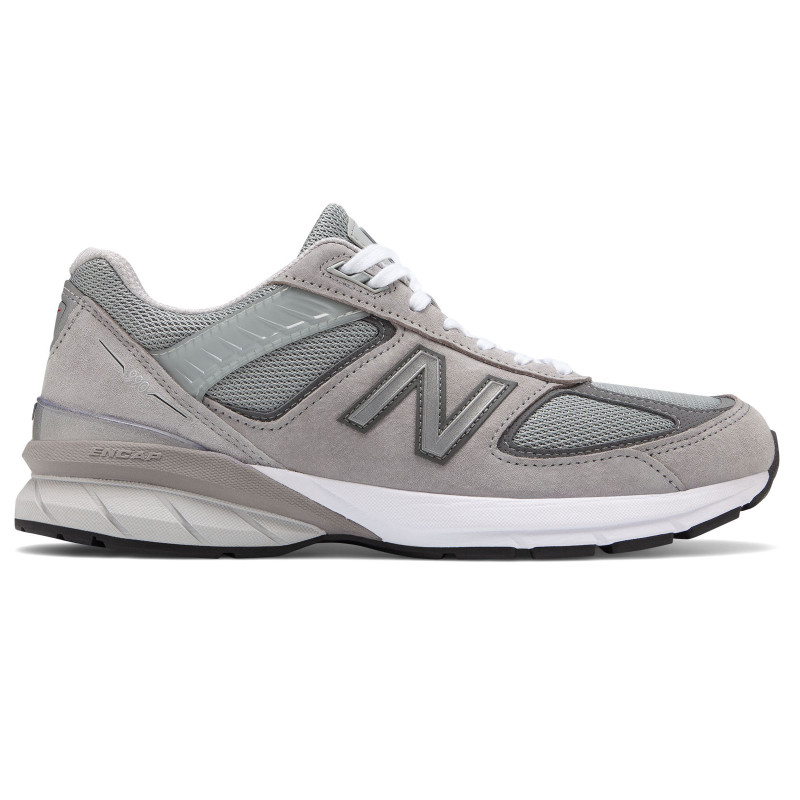 New Balance 990v5 Men's Running - Grey / Castlerock - M990GL5 - profile
